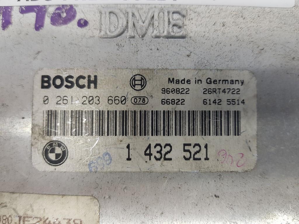 BMW E36 316 Engine ECU//Cerveau-BOSCH 0 261 203 276 à partir de 1995 ans voiture