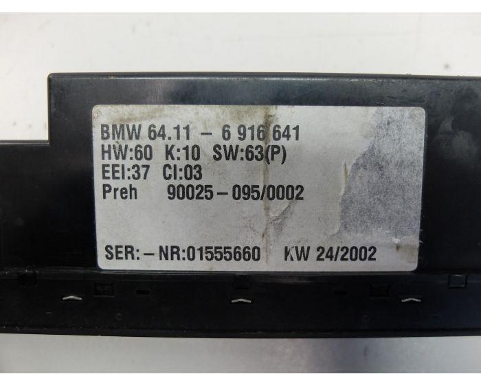 Moteur Ventilateur Chauffage Climatisation 64116916641 BMW 5 E39
