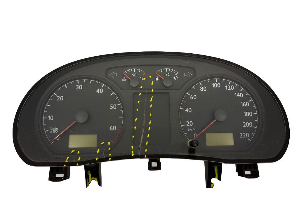 VW Polo 1.4 TDI Speedo 140 MPH VDO Compteur De Vitesse 6Q0920920G
